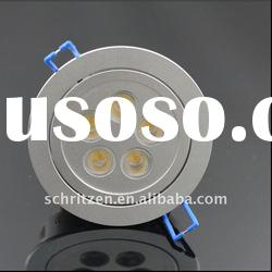 Recessed 5w dimmable led ceiling light High power 5W led ceiling lamp from China
