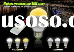 Remote-controlled 3W LED Bulb With Timer led light bulb