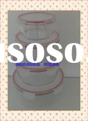 Round Glass food container