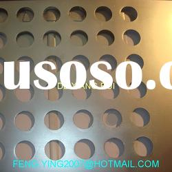 Round hole perforated sheet metal
