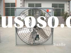 SANHE Ceiling type Exhaust Fan for poultry/greenhouse with CE