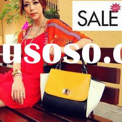 SKB346 2012 new fashion assorted color lady mailing tote bag