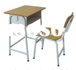 Simple school sets desks and chairs DJ005