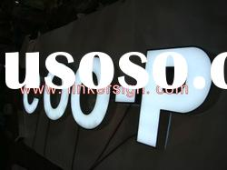 Stainless steel LED letter