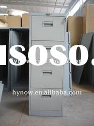 Steel knock down office 4-drawer hot sale vertical filing cabinet furniture