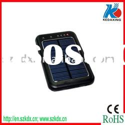 Ultrathin solar portable charger with led light and high battery capacity