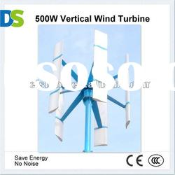 V 500W Vertical Axis Mini Wind Power Generator