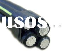 (ABC) Aluminum/XLPE Aerial Bunch Cable Overhead Power Cable_0.6/1kV