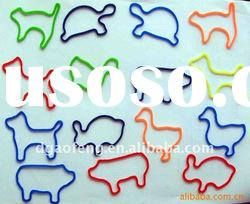 animal shape silicon rubber band for tieing