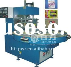 automatic turntable high frequency plastic welding equipment for PVC,PET,APET,PETG