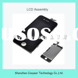 black complete lcd touch screen assembly for iphone 4g paypal is accepted