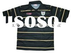 black polyester polo shirts