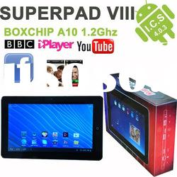boxchip A10 10 inch tablet pc BBC iplayer ,apps download ,GPS + HDMI + camera+ wifi+ external 3g