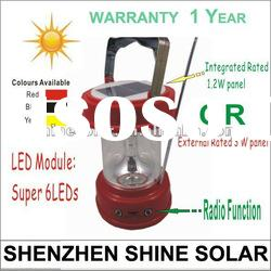 camping equipment solar lights/solar camping tent lighting SN-SLY616