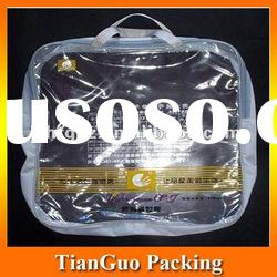 clear pvc plastic cosmetic pouch