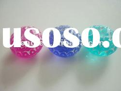 colorful acrylic beads for baby jewelry