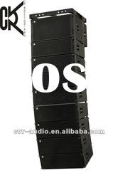 concert staging line array audio system