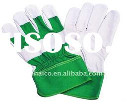 cow split leather working safety welding gloves with good quality