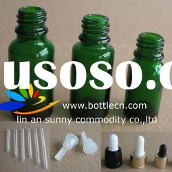 essential oil glass bottle with dropper