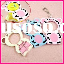 fashion plastic cute bear animal shape can bottle opener keychain