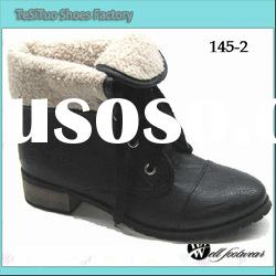 fashion women flat boots