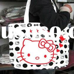 hellokitty kitty big book buy reusable shopping bag tote Girl Bag tote
