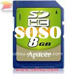 high quality 8GB memory class10 sd card high speed