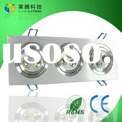 high quality led ceiling light 9w