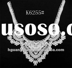 high quality neck cotton collar lace