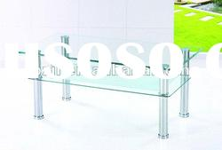 home furniture high quality glass tea table design