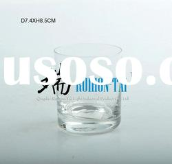hot selling clear tea cup no handle