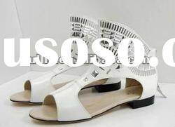 ladies summer sandals brand flat shoes spring dress women 2012 LD3