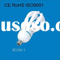 lotus shape 5U-1-85W-220v cfl
