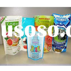 plastic stand up food packaging pouch