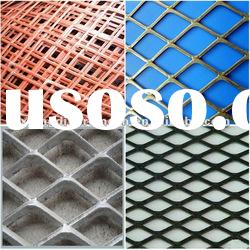 pvc coated /aluminum expanded metal mesh panel (factory)