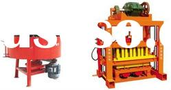 semi automatic concrete block making machine price QTJ4-40