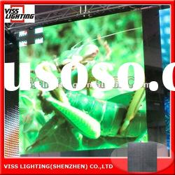 showroom high definition and super thin LED screen P 6.25