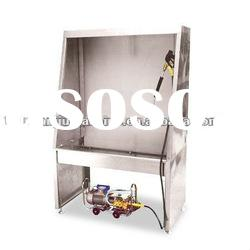 stainless steel screen washing booth