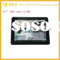 tablet pc 9.7inch capacitive multi touch screen cortex a9 dual core 1GB RAM 8GB/16GB Optional