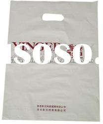 white plastic shopping bag