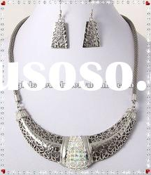 wholesale bridal jewelry high end fashion jewelry alloy neckless jewelry