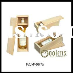 wooden wine gift/bottle box wine corkscrew wine opener