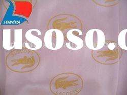 100% Polyester printed satin fabric