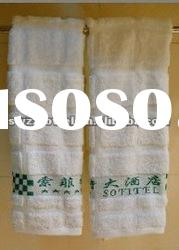 100 cotton yarn-dyed face towel