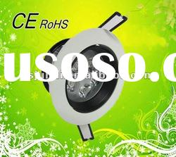2012 Newest!! 5W led downlight high power, supper bright led spot light with CE&ROHS