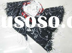 2012 Newest Fashion Acrylic Printed Scarf