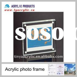 Absolutely clear acrylic magnet attachment photo frames