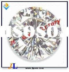 Beautiful Round Shape White Color Cubic Zircona Gemstones/Stone with AAA Grade