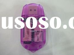Car style (Micro) SD Mini-business card reader 30