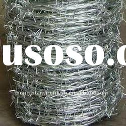 Cheap Price Galvanized and PVC Coated Rolls Of Barbed Wire Rope
